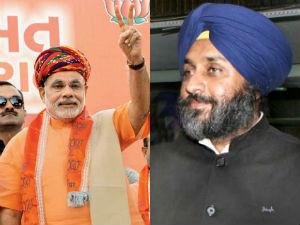 Sukhbir Badal Support Narendra Modi As Nda Pm Candidate