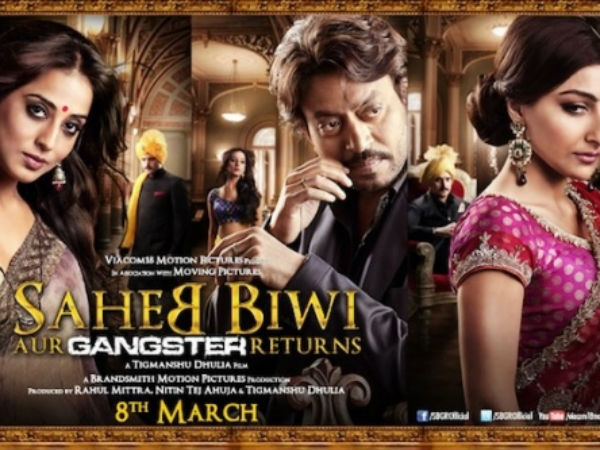 First Look Saheb Biwi Aur Gangster Returns Impressive