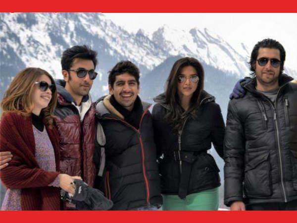 Ranbir Kapoor Deepika Padukone Shoot Film Kashmir