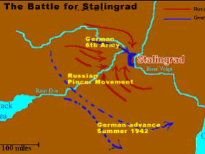 Stalingrad Returns To Russias Map To Mark Celebrations