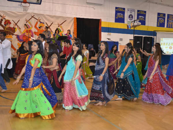 Celebration by Gujarati society in Florida
