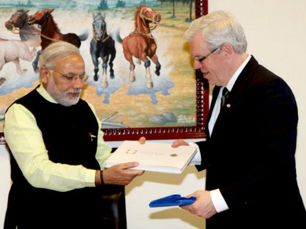 Delegation From Canadas Manitoba Province Calls On Modi