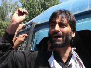 Yasin Malik Detained At Srinagar Airport