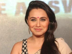 Rani Mukherjee Became Rani Chopra