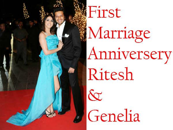 Pics Of Romantic Moments Of Ritesh Genelia