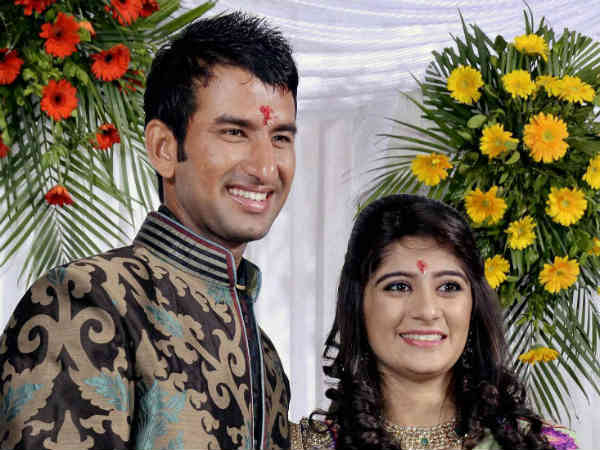 New Innings Cheteshwar Pujara Marries Pooja