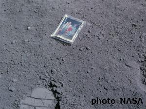 Astronaut Charles Duke Left Family Pic On Moon