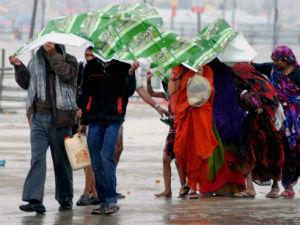 Chandigarh New Delhi Dewed Rain