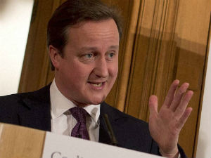 British Pm Cameron Arrived In India