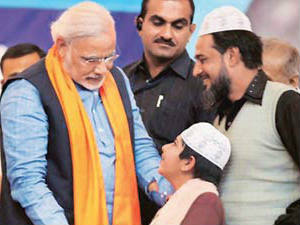 Modi Finding Favour With Muslims Madani