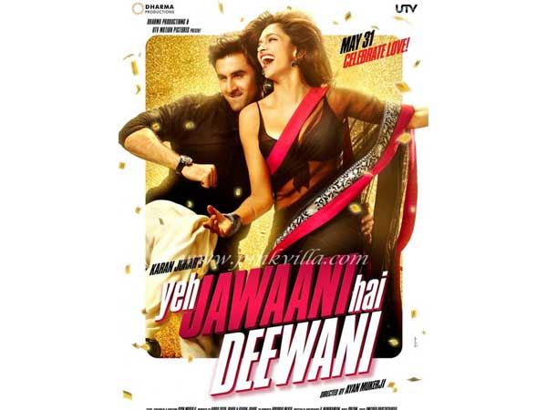 Yeh Jawaani Hai Deewani First Look Out Ranbir Deepika