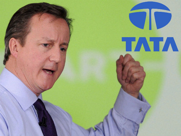 British Pm David Cameron Proud Tata Motors Makes Jlr