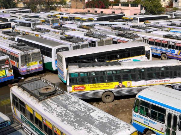 Bharat Bandh Banking Transport Sector Hit In Gujarat