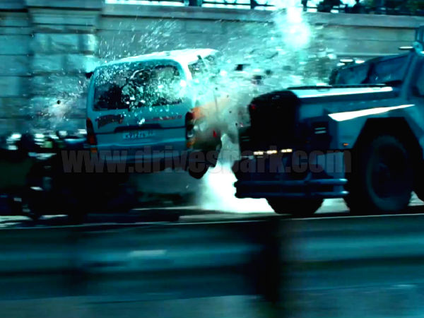 Die Hard 5 132 Cars Destroyed Single Action Scene