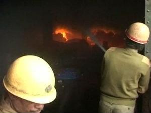 Major Fire At Kolkata Market 7 Killed