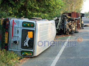 School Bus Truck Collide In Jalandhar 11 Student Killed