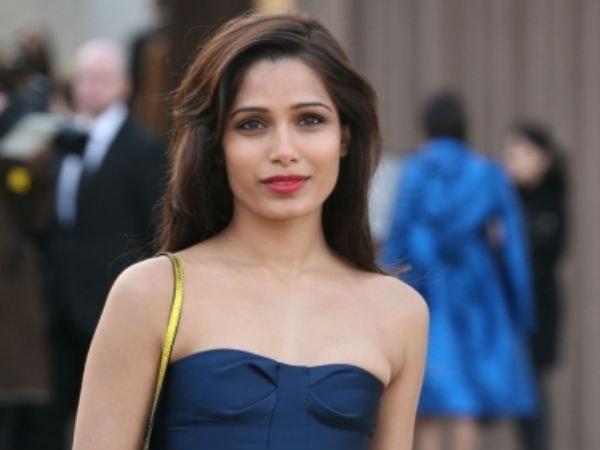 Freida Pinto Is Ready Bollywood Debut Rajkumar Yadav