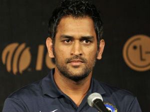 Aggressive Test Fields Over Says Dhoni