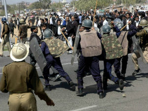 Lawyers Go On Rampage For 2nd Day In Jaipur