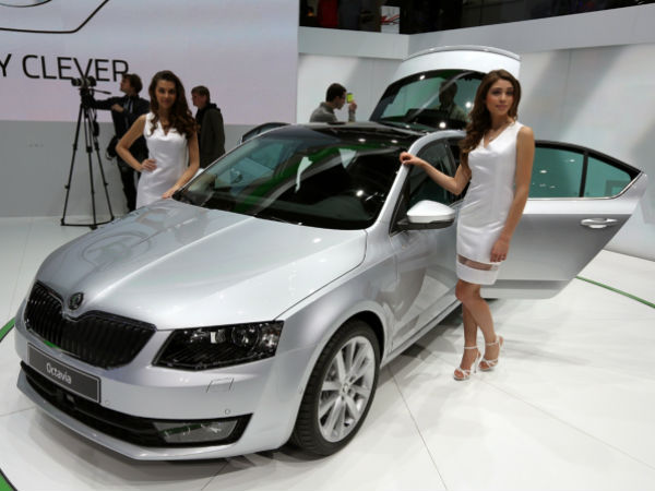 Skoda Octavia Launched At Geneva Motor Show