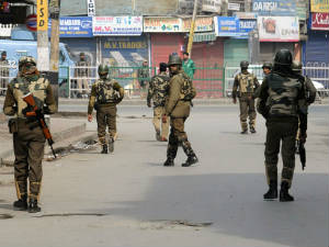Curfew Srinagar Other Towns Kashmir Valley