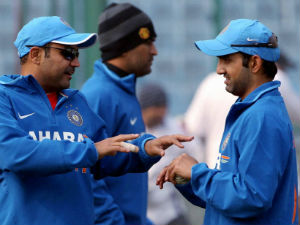 Dhoni Behind Sehwags Test Ouster Says Ganguly