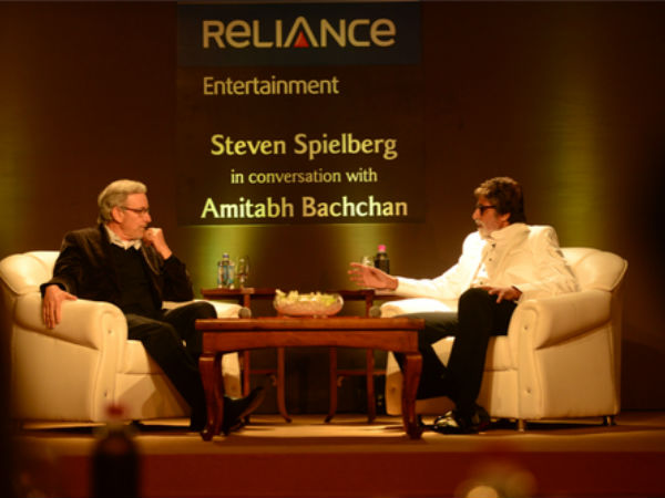 Amitabh Bachchan Spent Evening With Steven Spielberg
