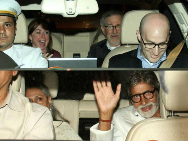 Bollywood Meet Hollywood Director Steven Spielberg