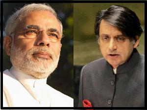 Modi Slam On Shashi Tharoor S Swaraj Statement