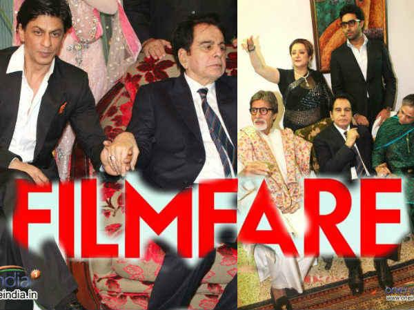 Amitabh Shahrukh Dilip Together On Filmfare Cover