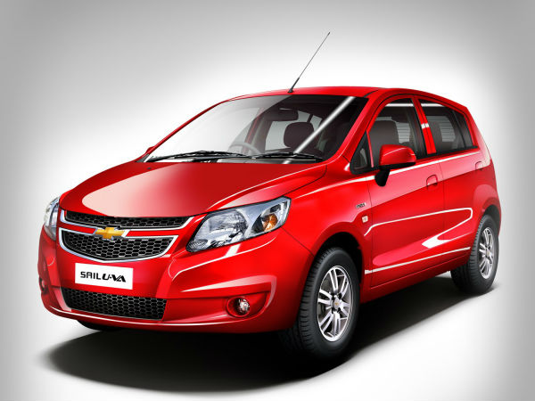 New Chevrolet Sail U Va Base Diesel