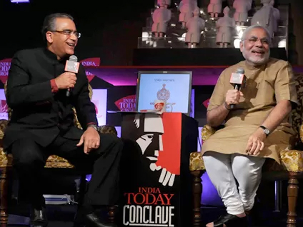 Narendra Modi At India Today Conclave See Pictures