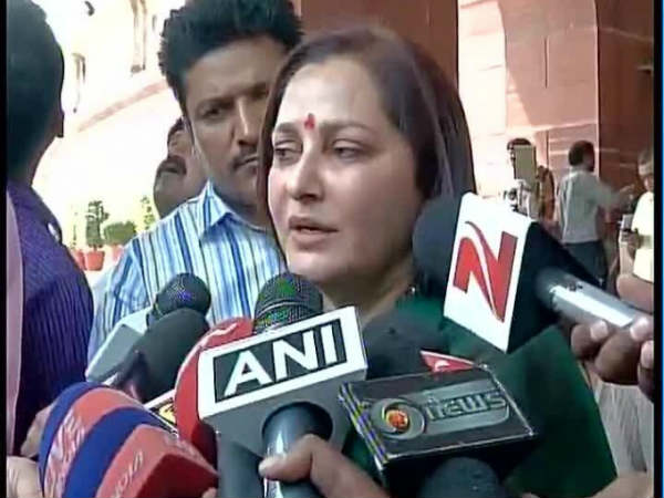 Hc Issues Notice Azam Khan On Jaya Prada Plea
