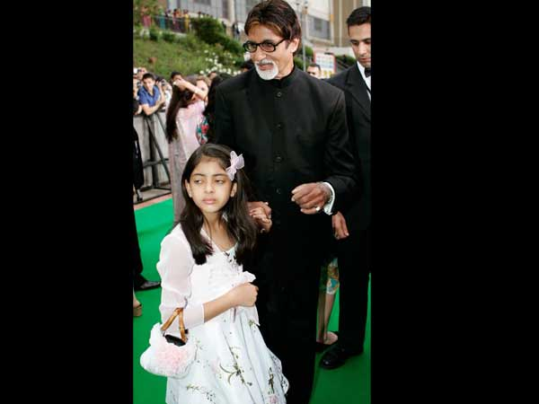 Pics Aaradhya Near Navya Never Far For Big B