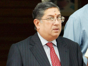 I Cannot Not Be Bulldozed Into Resigning N Srinivasan