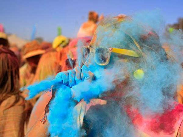 Photos How Holi Festival Celebrate In World