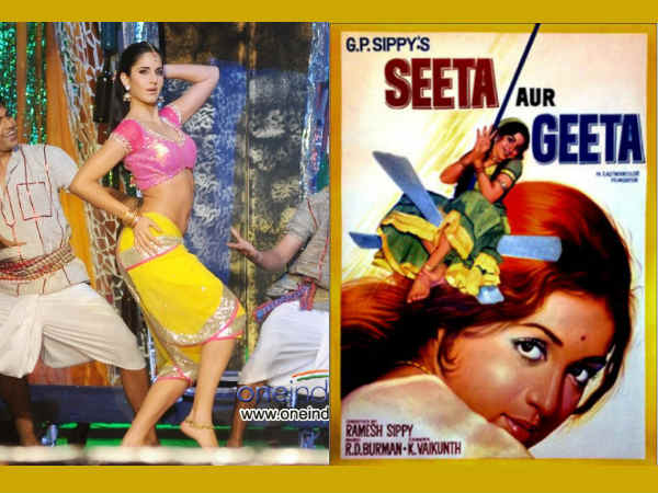 Katrina Kaif Double Role In Seeta Aur Geeta Remake