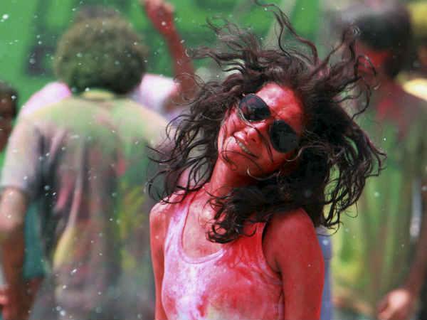 Pics Colourful Holi Celebration In India