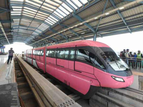 First Look Monorail Station At Wadala In Mumbai
