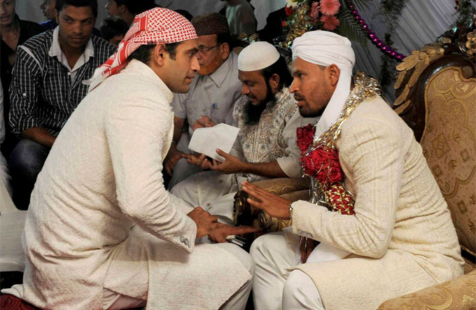 Cricketer Yusuf Pathan Ties Knot Afreen Farmhouse