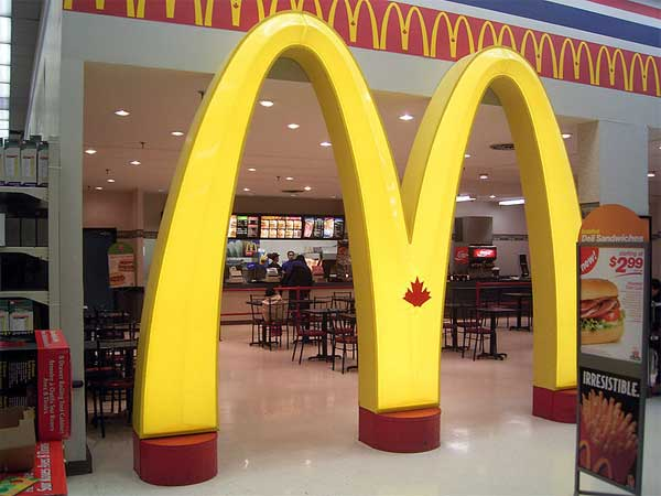 Couple Thrown Of Mcdonald For Having Sex In Toilet