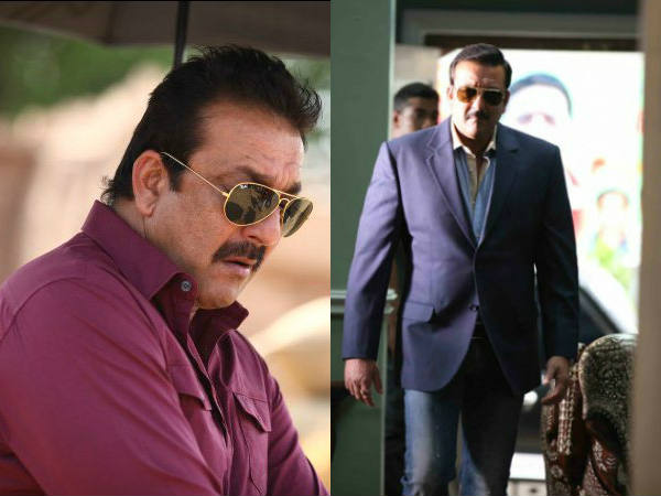 Sanjay Dutt On The Sets Policegiri Shooting Pictures