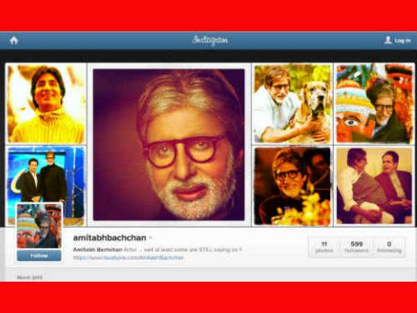 Amitabh Bachchan Join Instragram