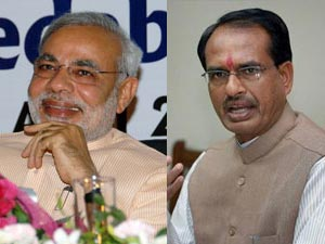 Narendra Modi Defeats Shivraj In Popularity Politics