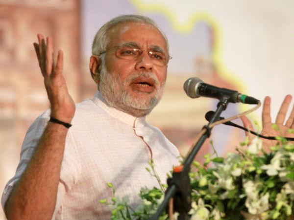 Ramdev Takes A Dig At Congress Praises Modi