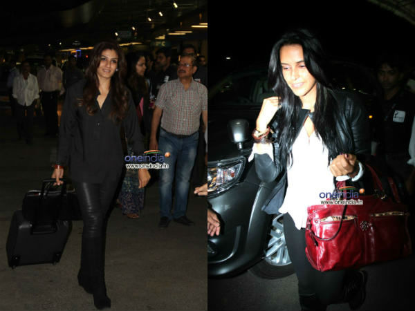 Bollywood Celebs Leaves For Toifa Awards