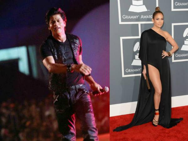 Jennifer Lopez Angry Shahrukh Khan Ipl Inaugural Event