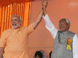 Protest Of Modi Is Nitish Kumar S Political Compulsion