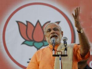 Gujarat Cm Address Bjp Worker In Kolkata