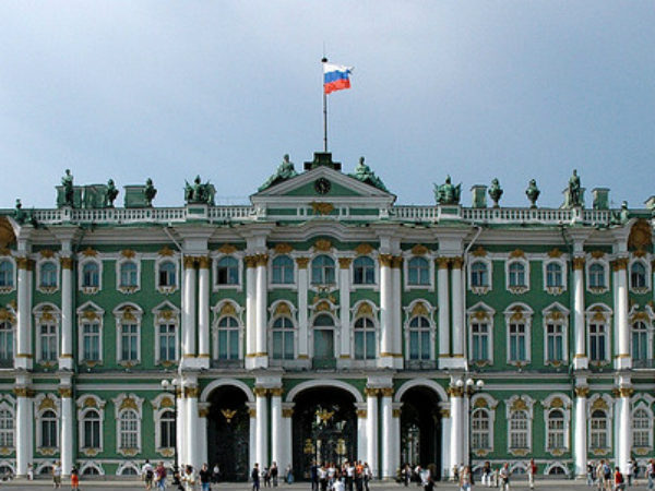 Pictures of world famous The Hermitage Musium of Russia